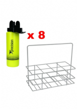 Bottle Carrier & 8 x Hygiene Water Bottles